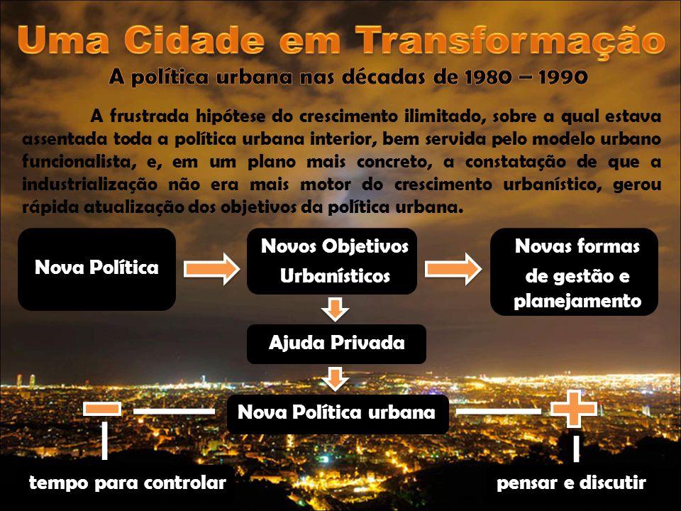 Uma Cidade em Transformação