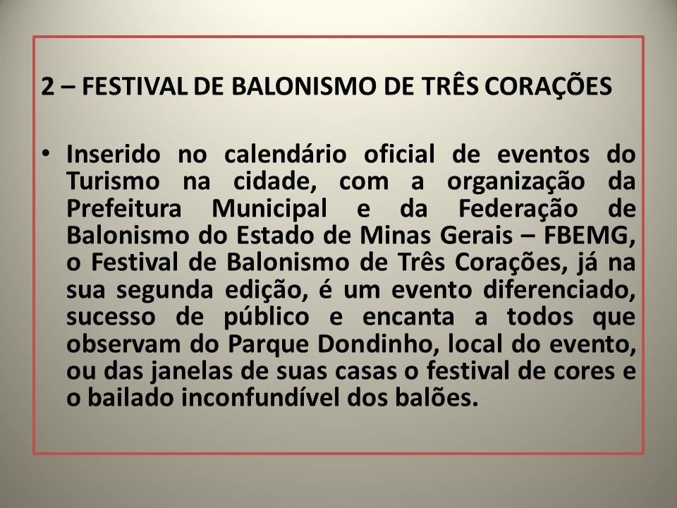 2 – FESTIVAL DE BALONISMO DE TRÊS CORAÇÕES