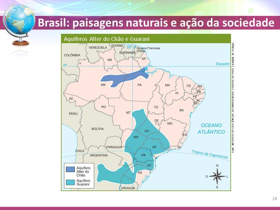 Aquíferos Alter do Chão e Guarani