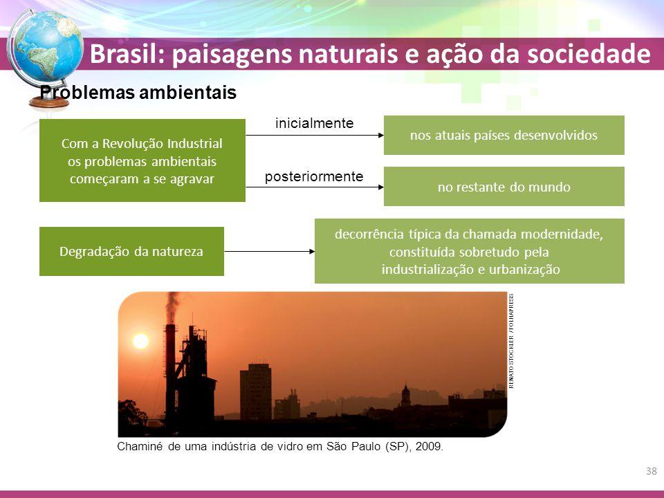Problemas ambientais inicialmente nos atuais países desenvolvidos