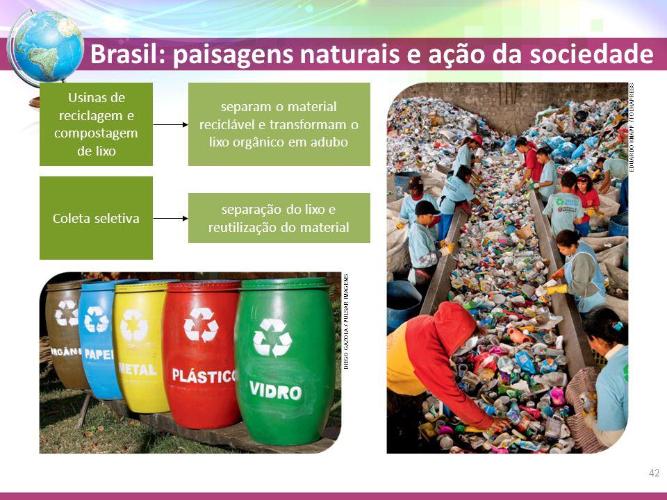 Usinas de reciclagem e compostagem de lixo