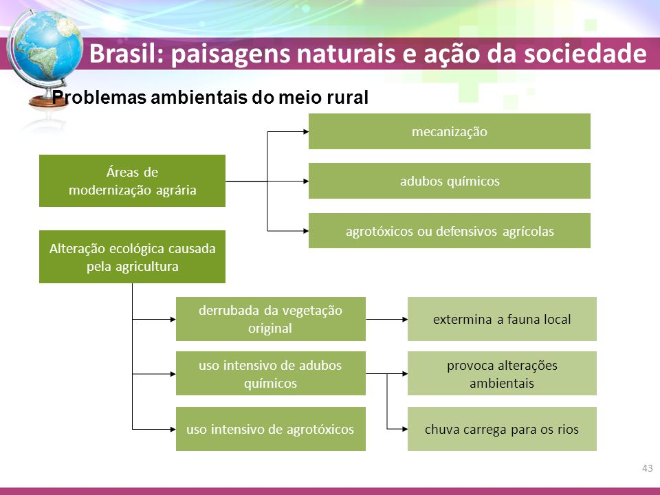 Problemas ambientais do meio rural