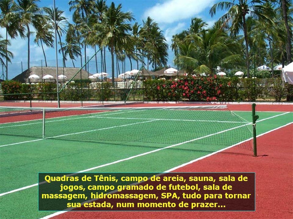P0008395 - MARAGOGI - RESORT SALINAS DO MARAGOGI - QUADRA DE TÊNIS