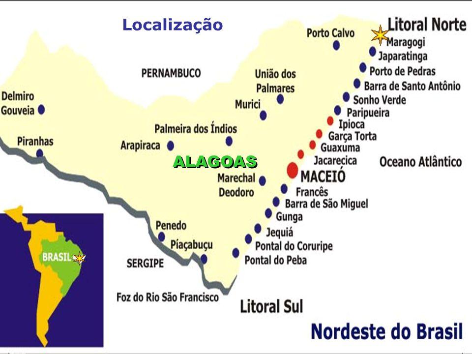Localização ALAGOAS O ...