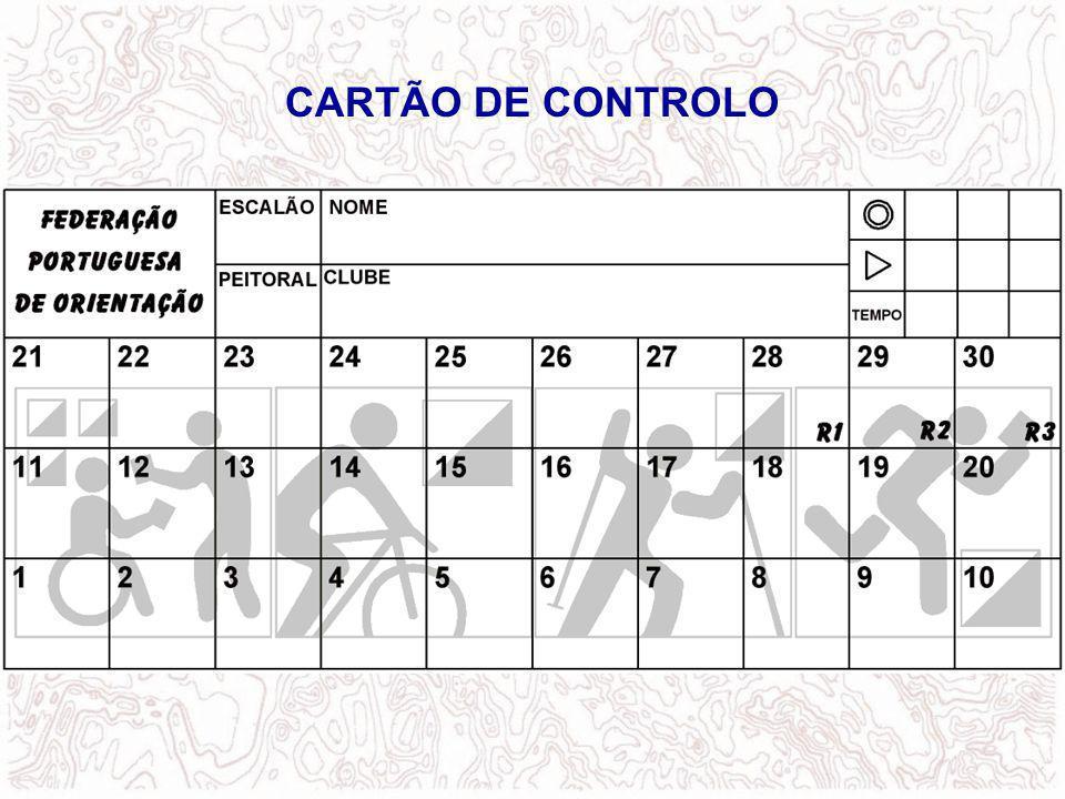 CARTÃO DE CONTROLO