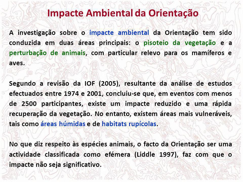 Impacte Ambiental da Orientação
