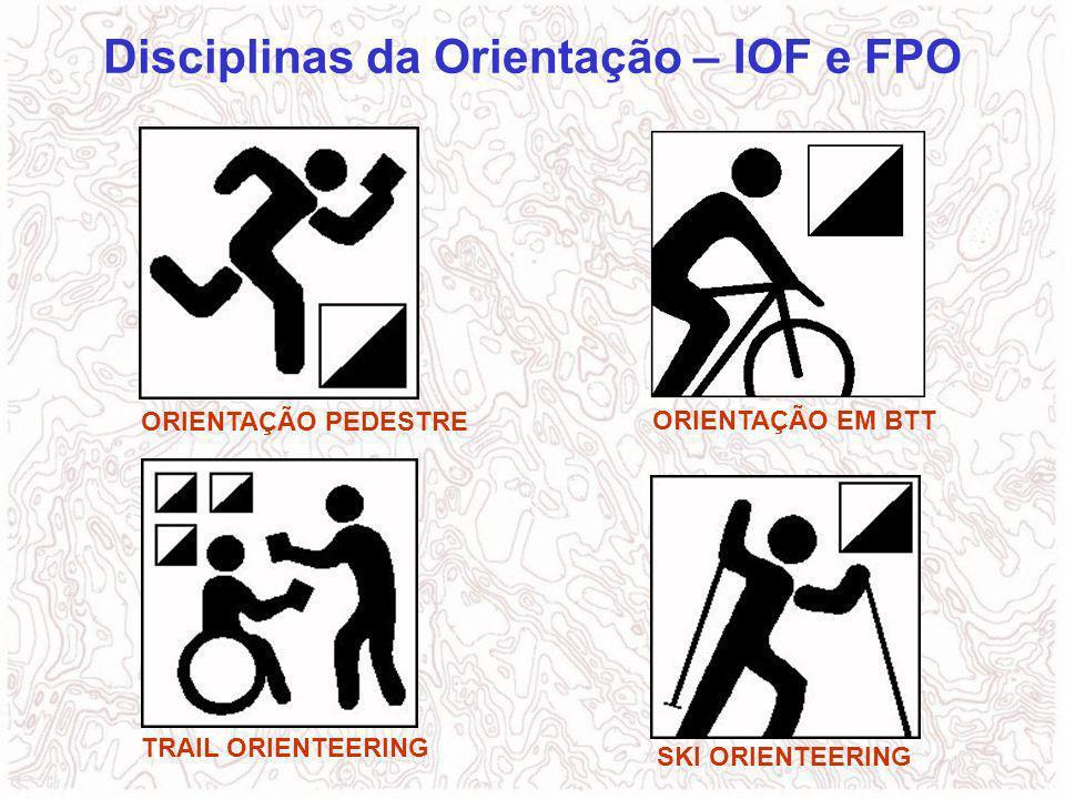 Disciplinas da Orientação – IOF e FPO