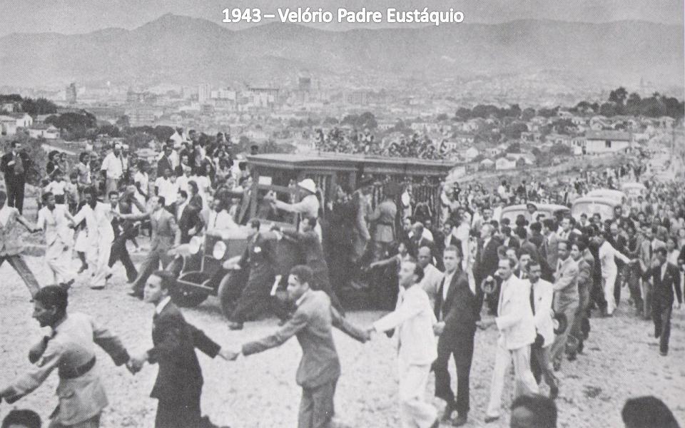 1943 – Velório Padre Eustáquio