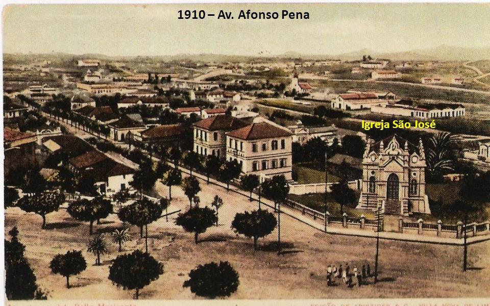 1910 – Av. Afonso Pena Igreja São José
