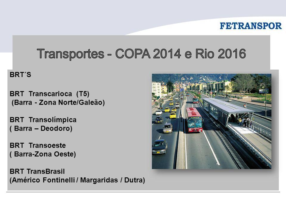 (Barra - Zona Norte/Galeão) BRT Transolímpica ( Barra – Deodoro)