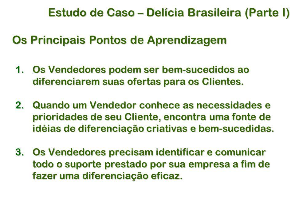 Estudo de Caso – Delícia Brasileira (Parte I)
