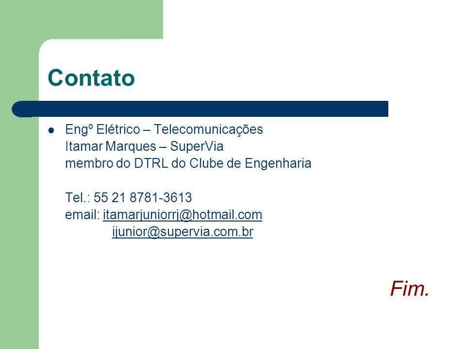 Contato Fim. Engº Elétrico – Telecomunicações