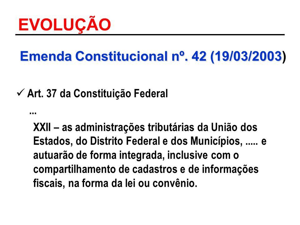 Emenda Constitucional nº. 42 (19/03/2003)