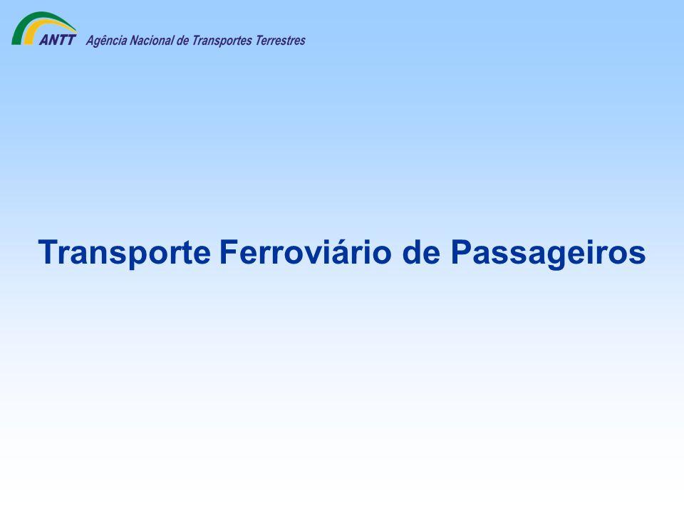 Transporte Ferroviário de Passageiros