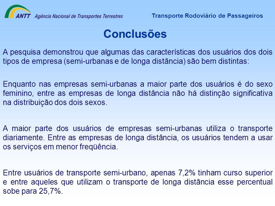 Transporte Rodoviário de Passageiros