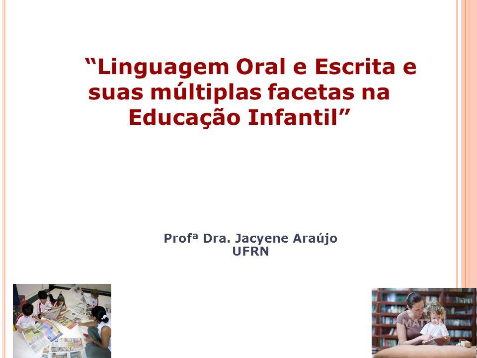 Profª Dra. Jacyene Araújo
