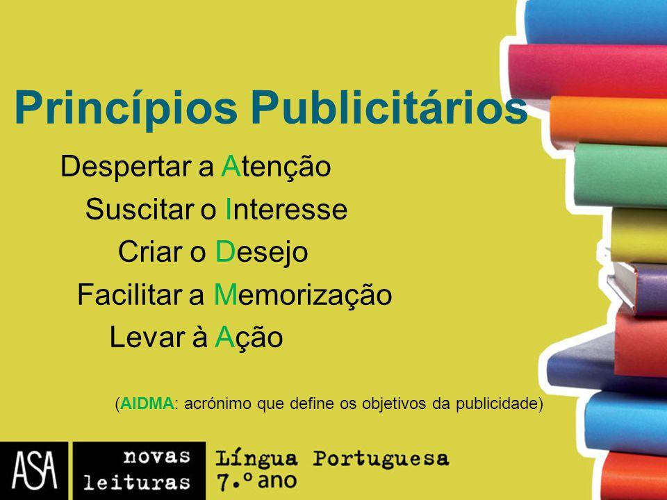 Princípios Publicitários