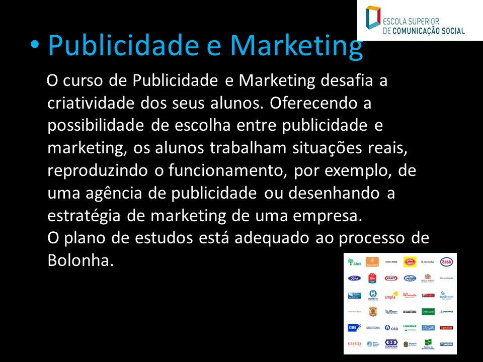 Publicidade e Marketing