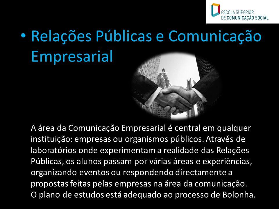 Relações Públicas e Comunicação Empresarial
