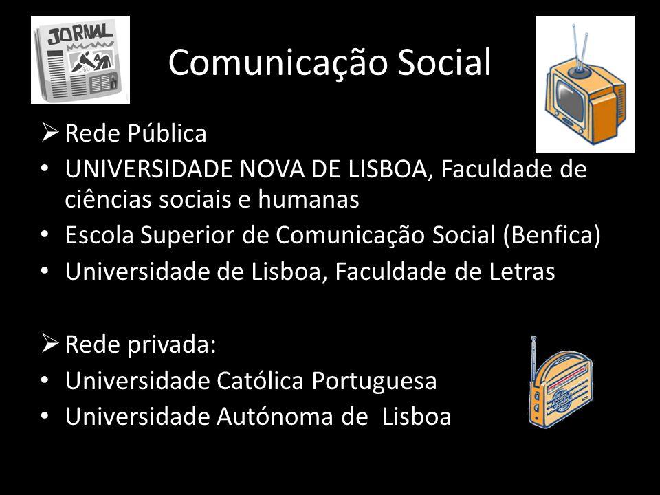 Comunicação Social Rede Pública