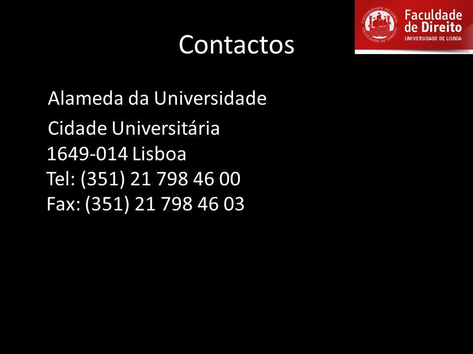 Contactos Alameda da Universidade