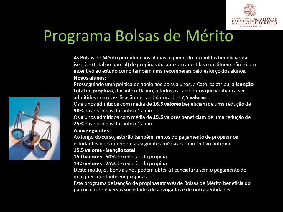 Programa Bolsas de Mérito