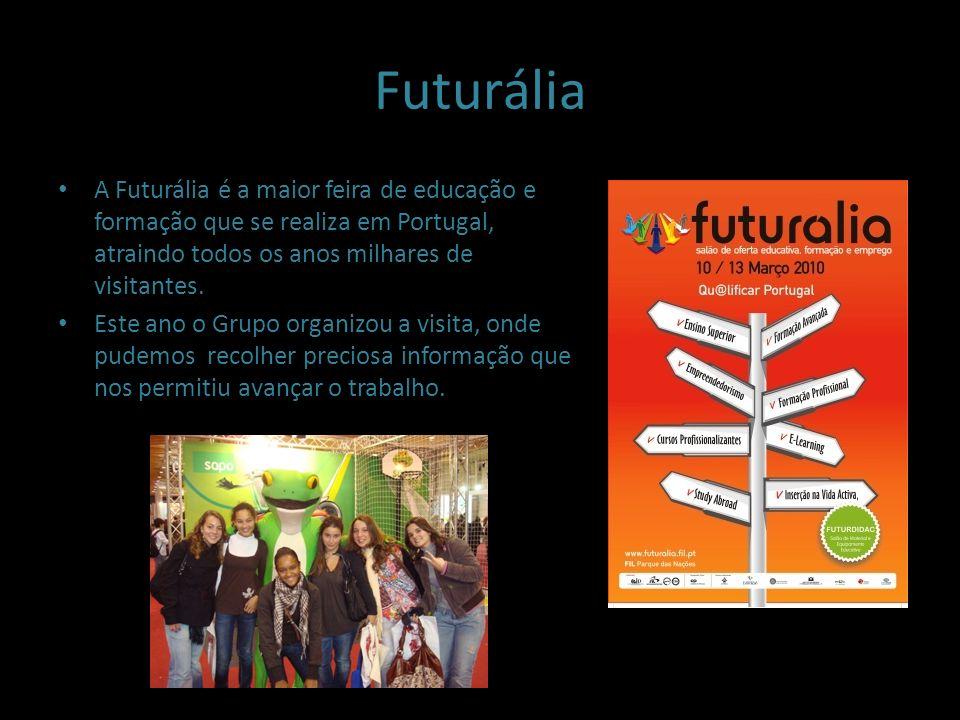 FuturáliaA Futurália é a maior feira de educação e formação que se realiza em Portugal, atraindo todos os anos milhares de visitantes.