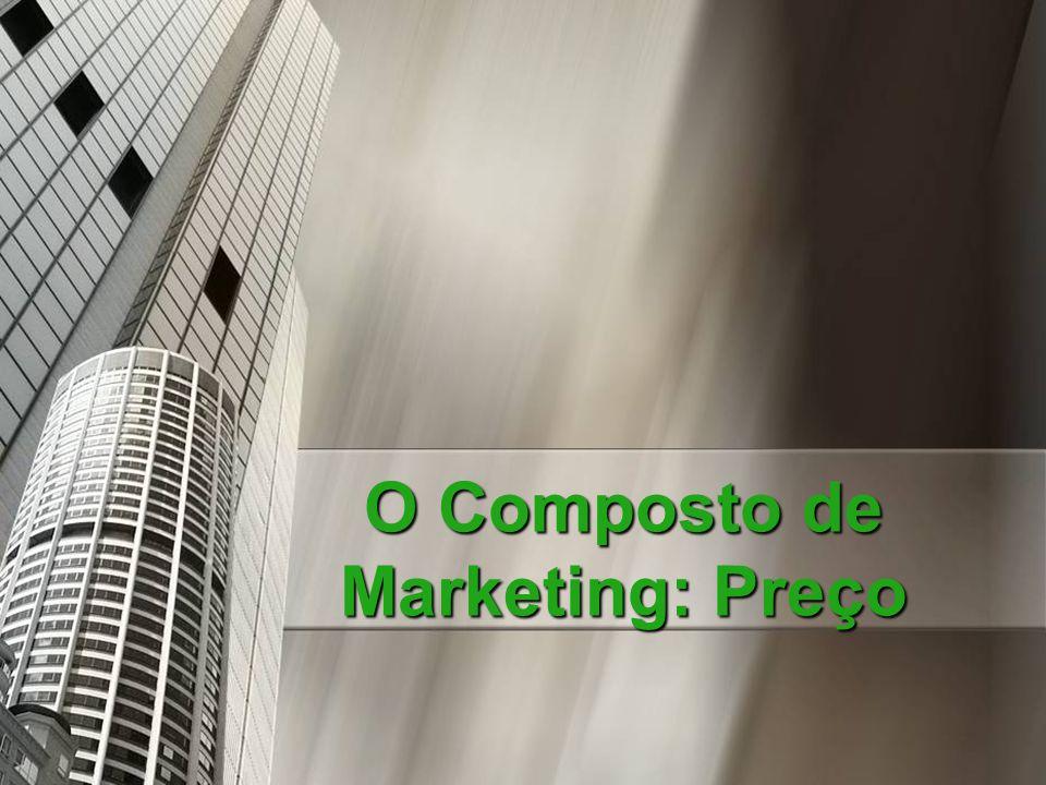 O Composto de Marketing: Preço