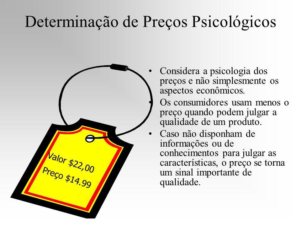 Determinação de Preços Psicológicos