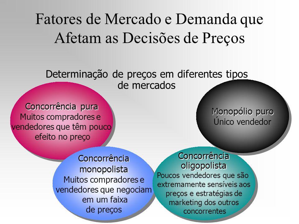 Fatores de Mercado e Demanda que Afetam as Decisões de Preços