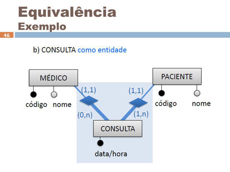Equivalência Exemplo Ceça Moraes