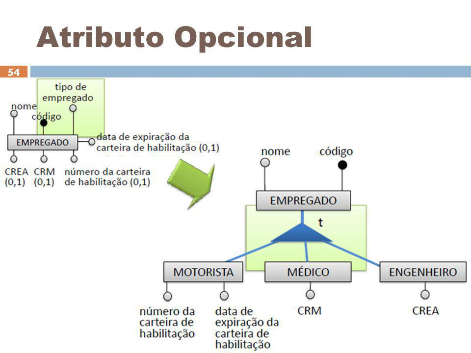 Atributo Opcional Ceça Moraes