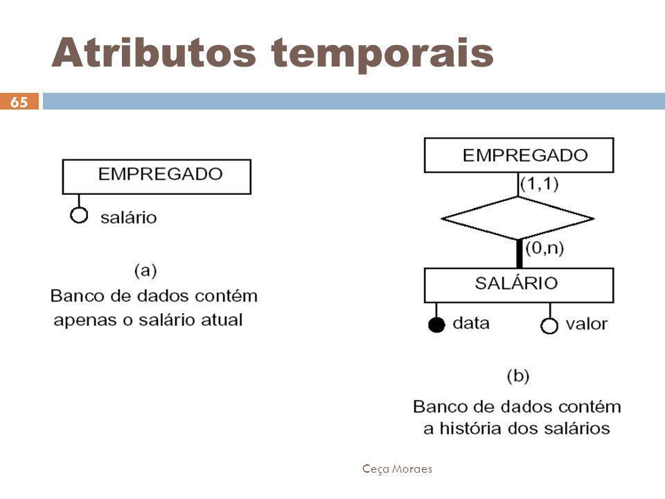Atributos temporais Ceça Moraes