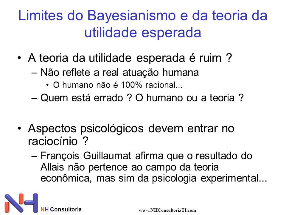 Limites do Bayesianismo e da teoria da utilidade esperada