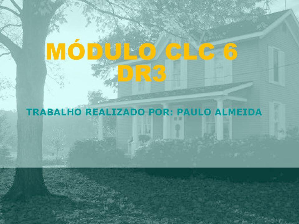 TRABALHO REALIZADO POR: PAULO ALMEIDA