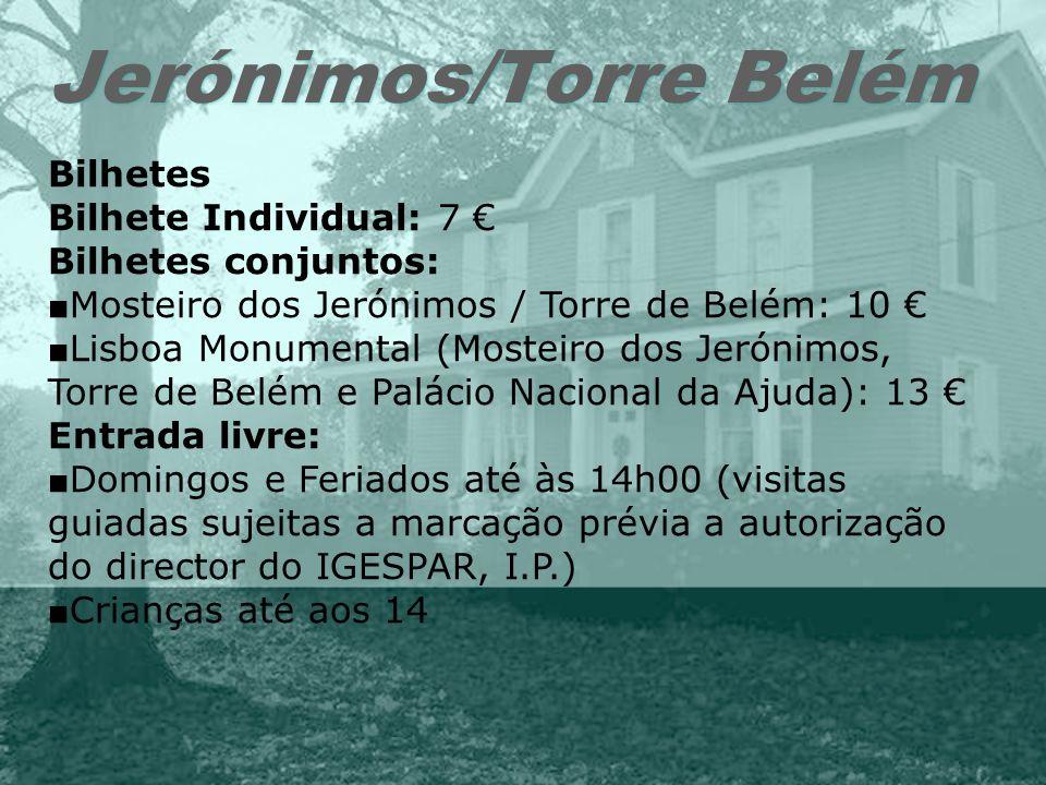 Jerónimos/Torre Belém