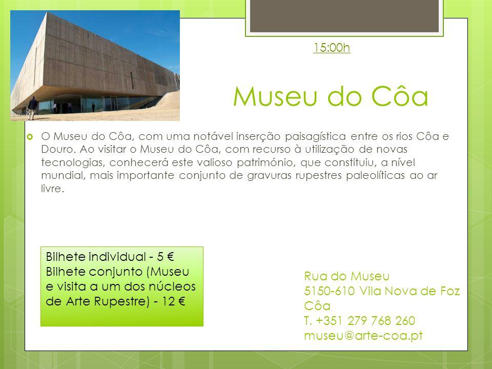 15:00h Museu do Côa.