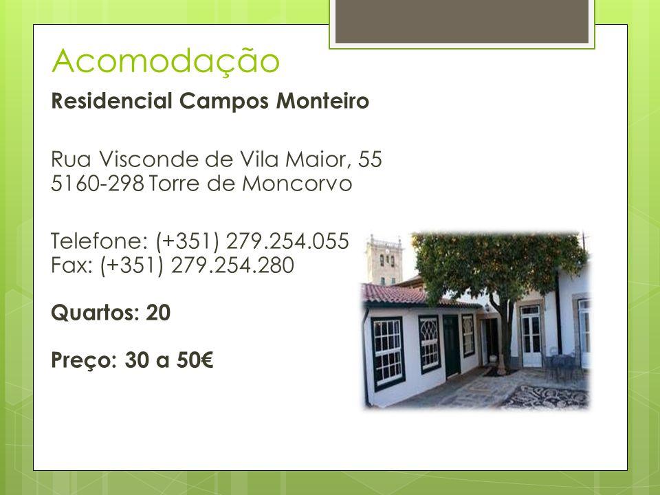 Acomodação Residencial Campos Monteiro