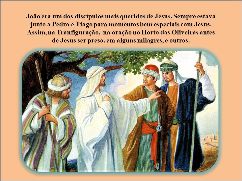 João era um dos discípulos mais queridos de Jesus