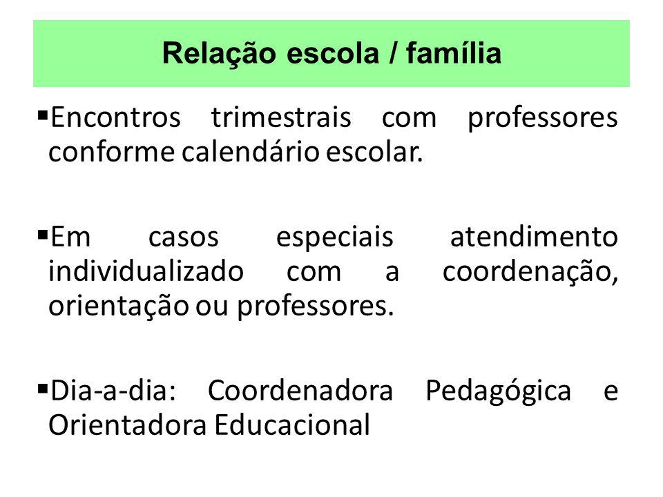 Relação escola / família