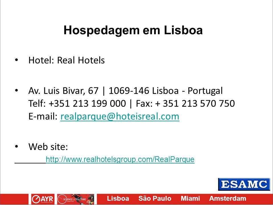 Hospedagem em Lisboa Hotel: Real Hotels