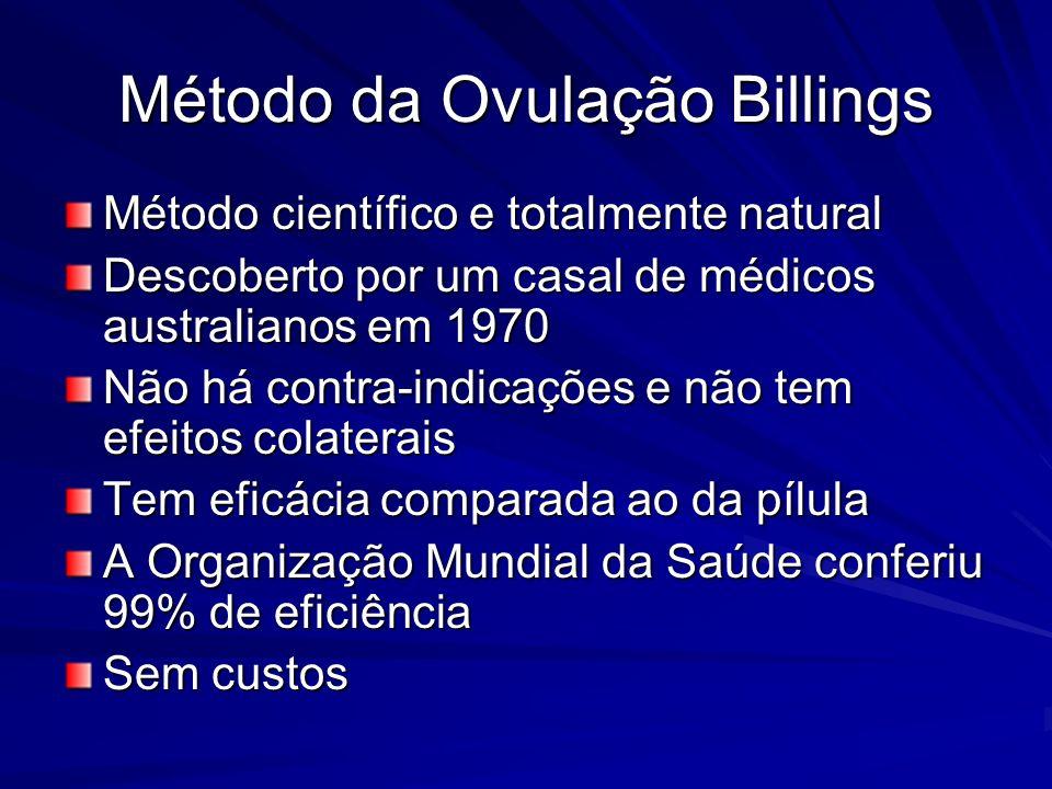 Método da Ovulação Billings