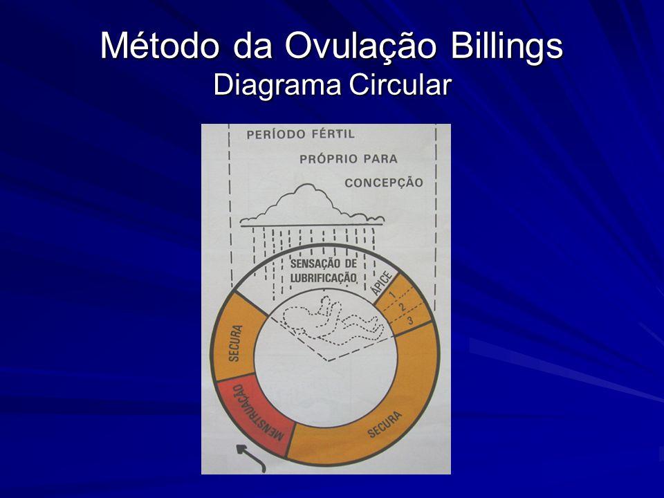 Método da Ovulação Billings Diagrama Circular