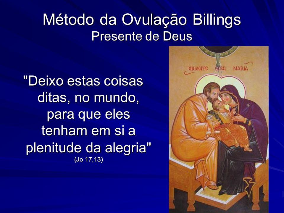 Método da Ovulação Billings Presente de Deus