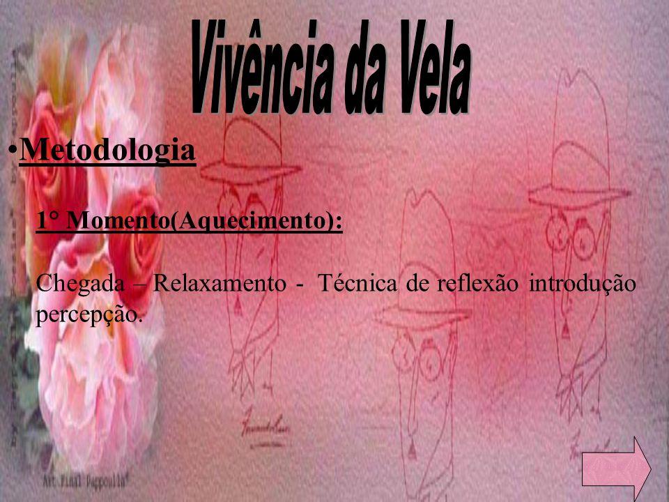 Vivência da Vela Metodologia 1° Momento(Aquecimento):