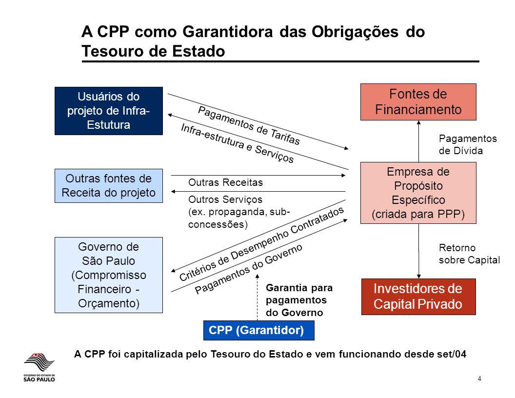A CPP como Garantidora das Obrigações do Tesouro de Estado