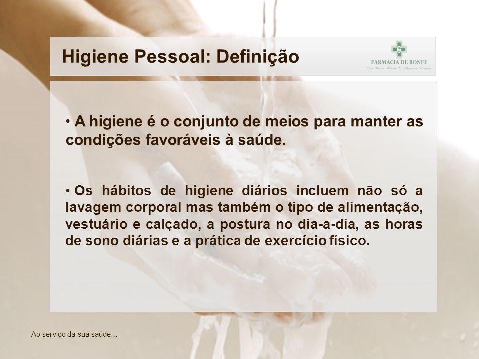 Higiene Pessoal: Definição