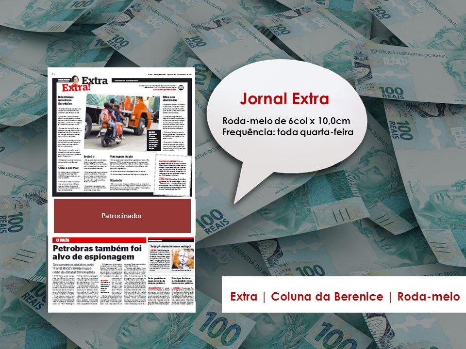 Jornal Extra Extra | Coluna da Berenice | Roda-meio