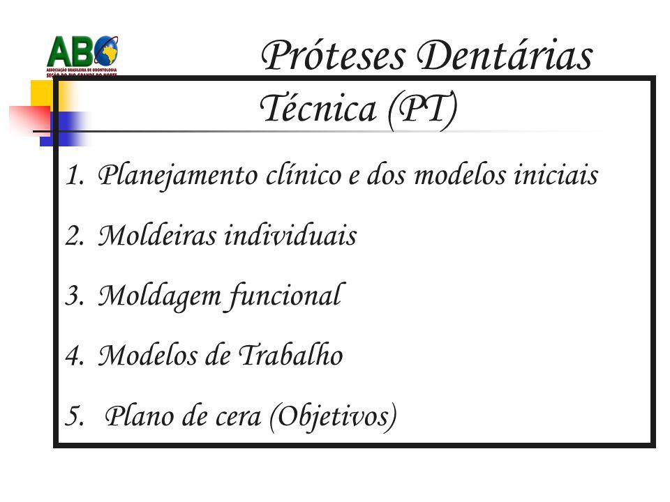 Próteses Dentárias Técnica (PT)
