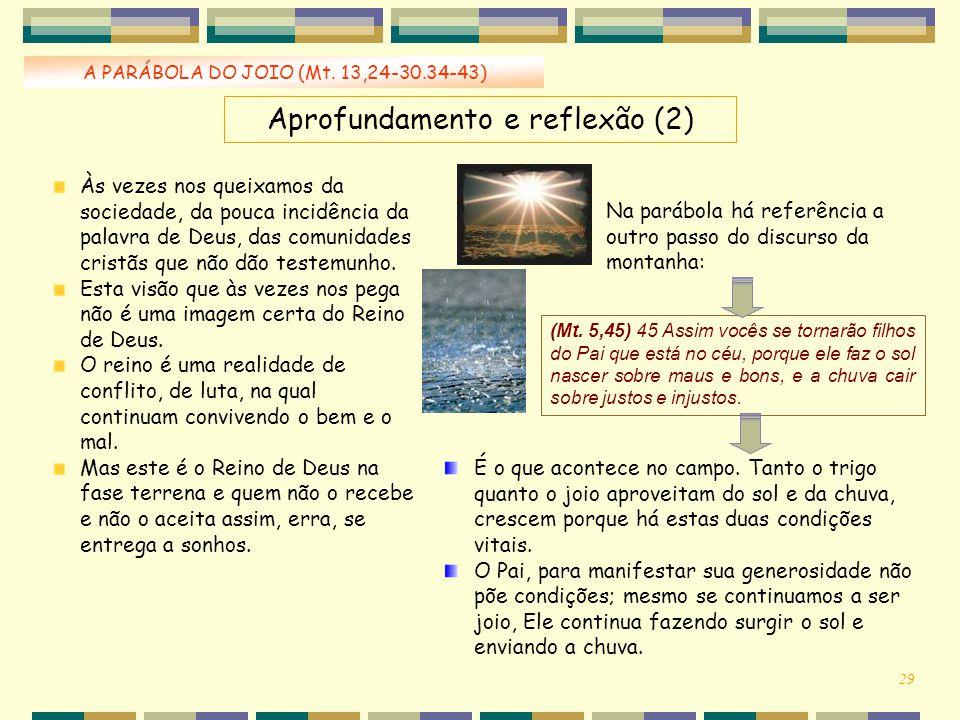 Aprofundamento e reflexão (2)